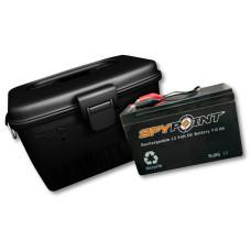 Spypoint 12 volt batteri med oplader og vandtæt boks