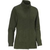 Shirley W Sweater Full-zip - Loden Green