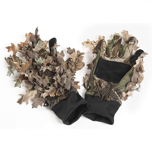 Wood Leaf Camo M Handsker Jagttøj