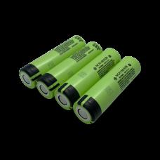 4-paks Kvalitets genopladeligt 18650 batteri fra Panasonic Vildtkamera tilbehør