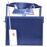 Fjernbetjening til foderautomatik