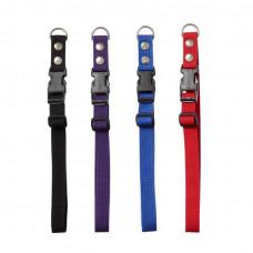Chrisco Hundehalsbånd med snaplås (clickspænde) i nylon, 35-60 cm Jagthunden