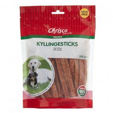 Chrisco Kyllingesticks, 200 g ℮ Jagthunden